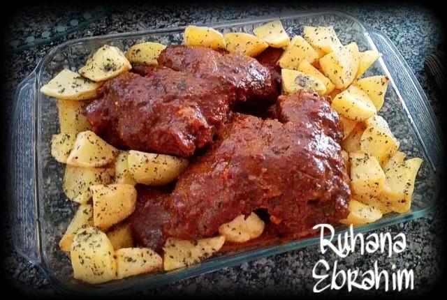 Ruhana's Kashmiri Leg Roast