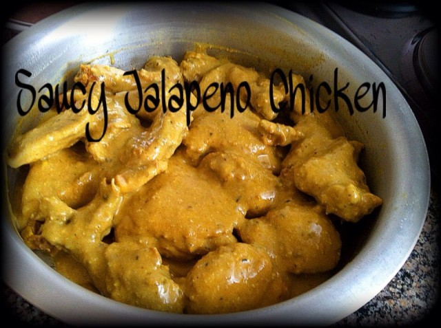 Saucy Jalapeno Chicken