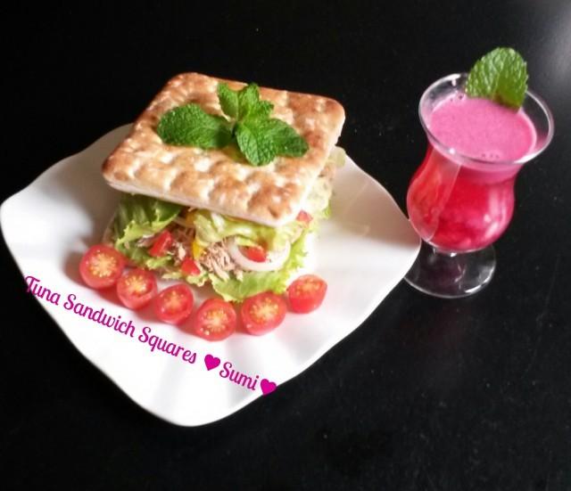 Tuna Sandwich Squares