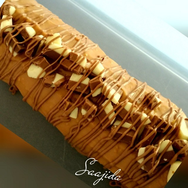 Caramel Swiss Roll