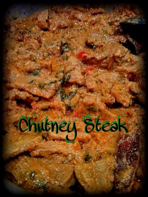Chutney Steak
