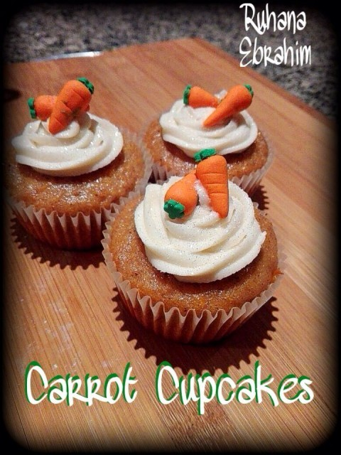 Quick Carrot Cupcakes