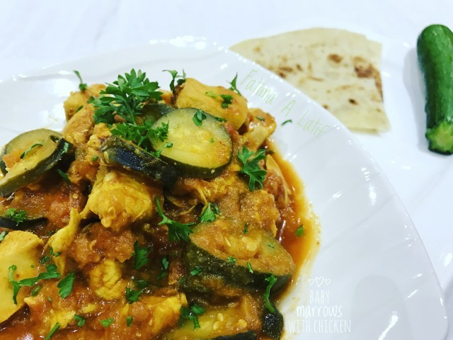 Baby Marrow With Chicken Recipe By Fatima A Latif