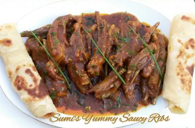 Sumi's Yummy Saucy Ribs