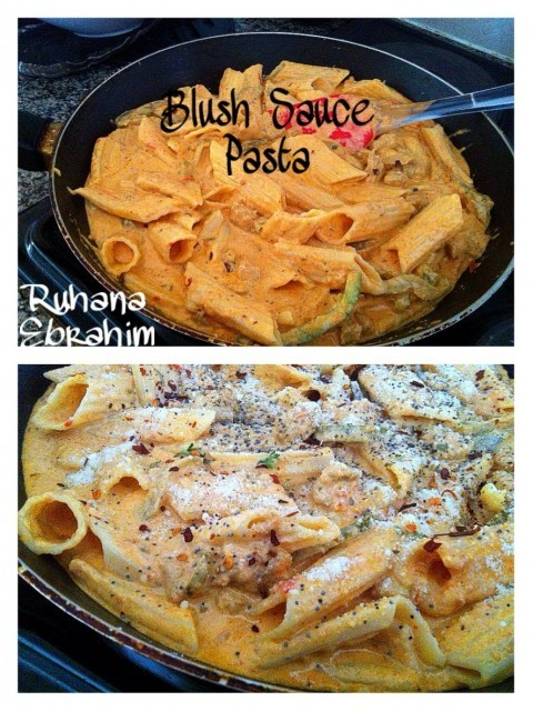 Blush Sauce Pasta