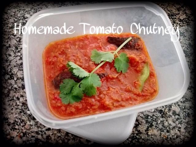 Homemade Tomato Chutney