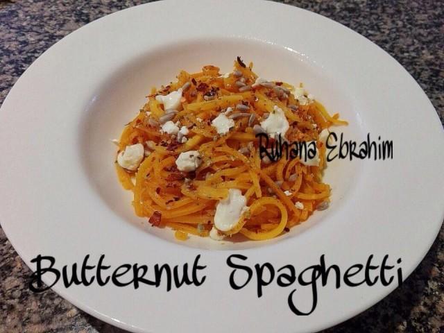 Butternut Spaghetti