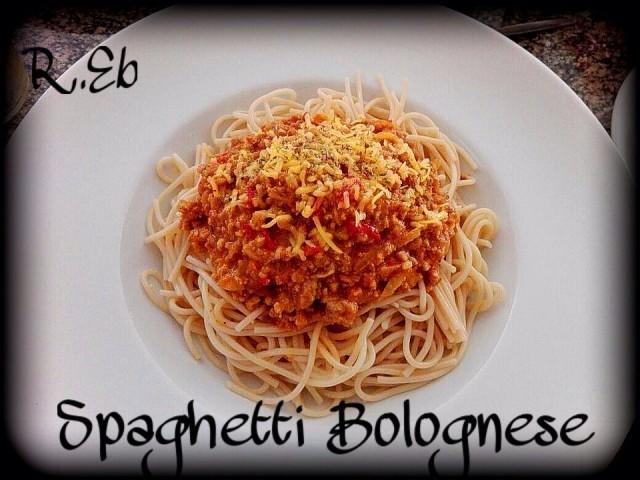 Spicy Spaghetti Bolognese