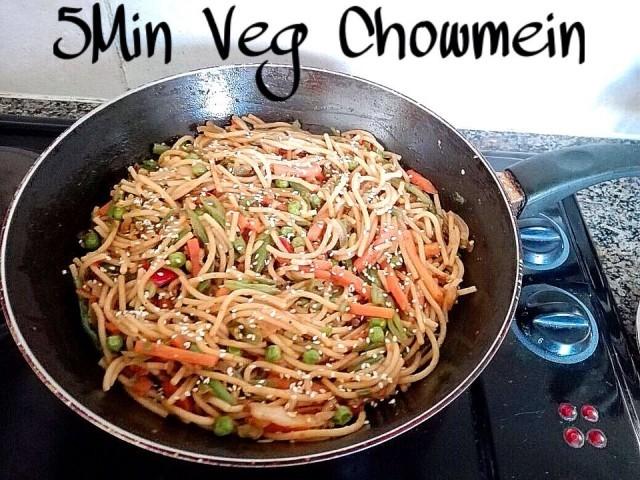 5min Veg Chowmein