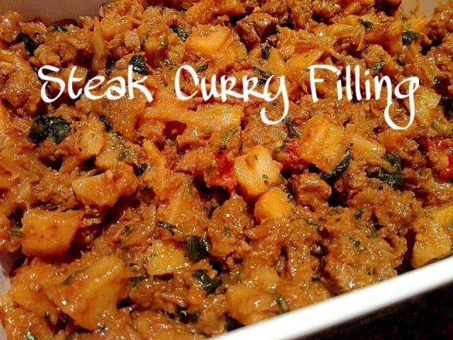Steak Curry Filling