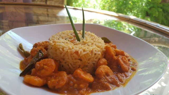 Prawn Curry N Spice Rice