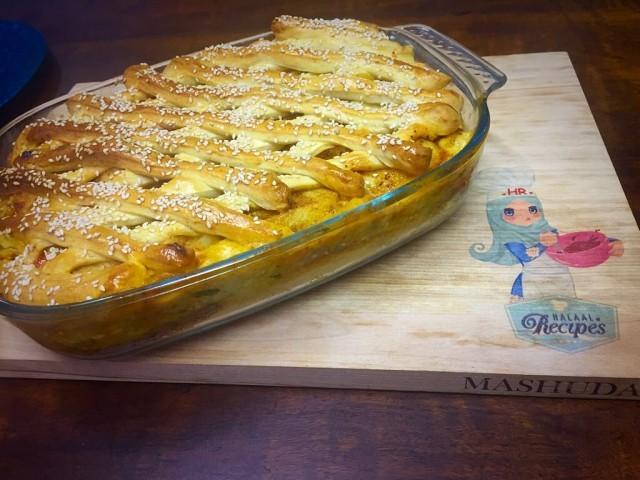 Chicken And Chip Pie / My Recipe