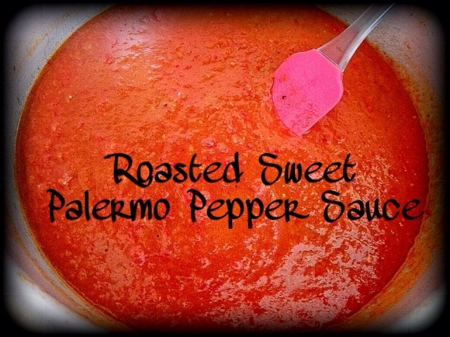 Roasted Sweet Palermo Pepper Sauce
