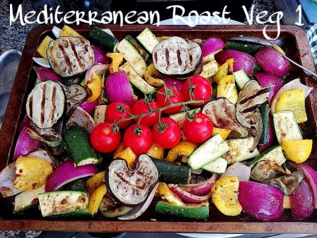 Mediterranean Roasted Veg 1