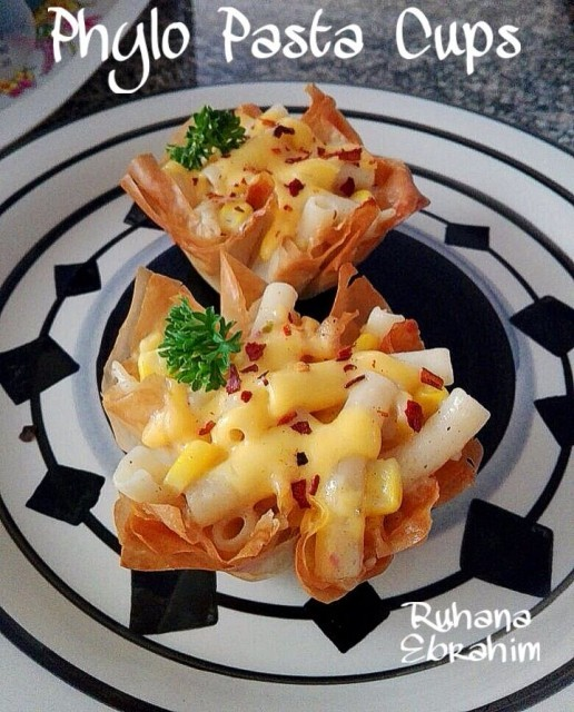 Phylo Pasta Cups