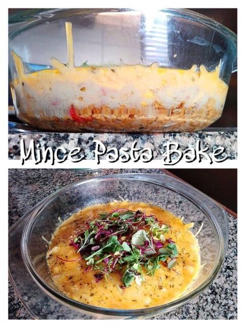 Mince Pasta Bake