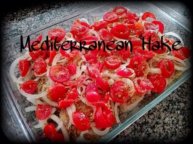 Mediterranean Baked Hake