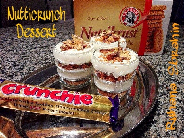 Nutticrunch Dessert