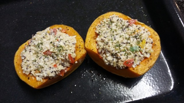 Quinoa Stuffed Butternut