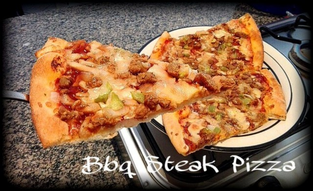 Bbq Steak Pizza