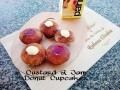 Custard & Jam Donut Cupcakes