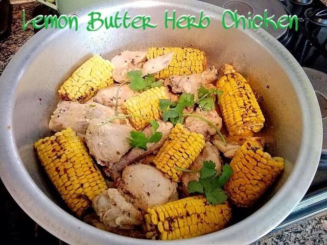 Lemon Butter Herb Chicken