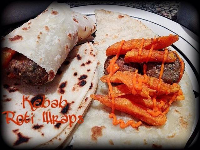 Kebab Roti Wraps