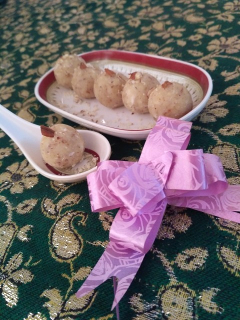 Palm Sprout Balls (ladoo)