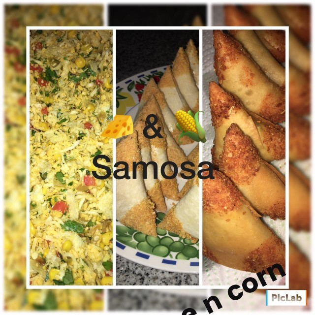 Cheese N Corn Samosa