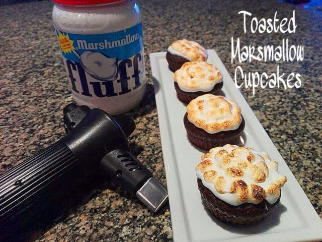 Toasted Marshmallow Cuppies
