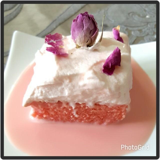 Rose Tres Lèche / Milk Cake @allthingsnice_dubai
