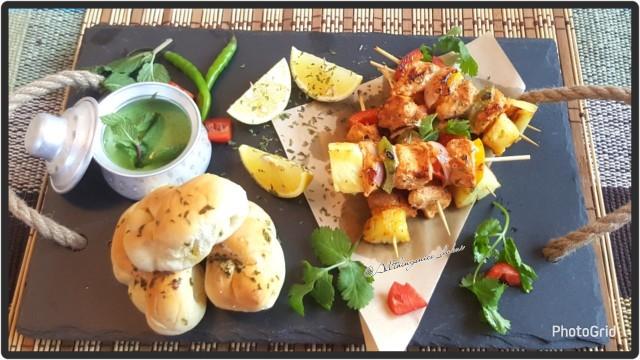 Tandoori Chicken Skewers @allthingsnice_dubai