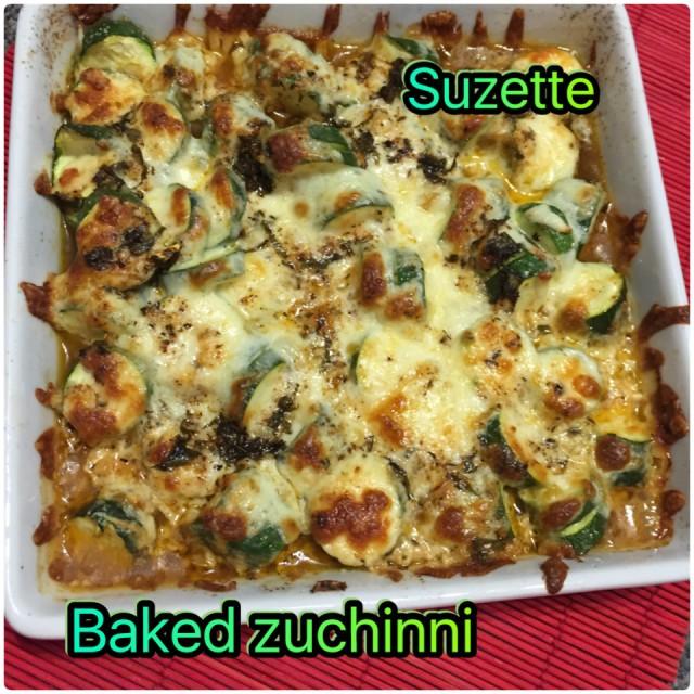 Baked Zuchinni's