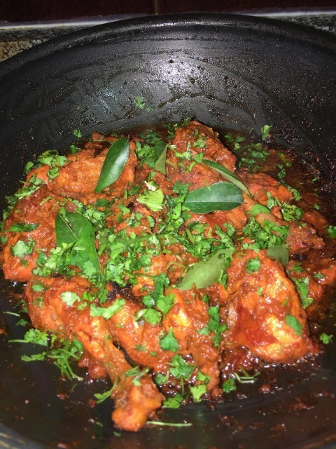 Dry Masala Chicken