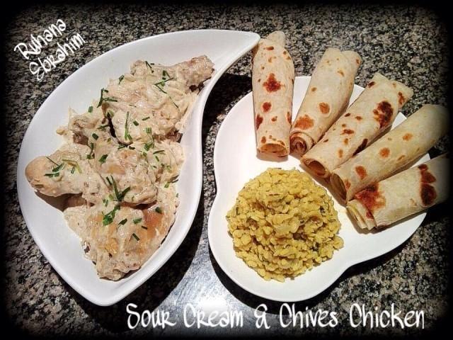 Sour Cream & Chives Chicken