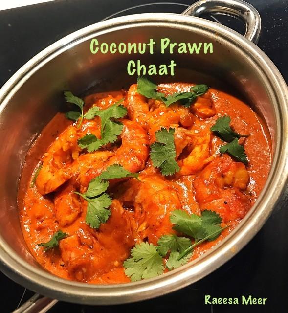 Coconut Prawn Chaat (raeesa Meer)
