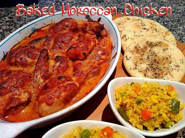 Baked Moroccan Chicken