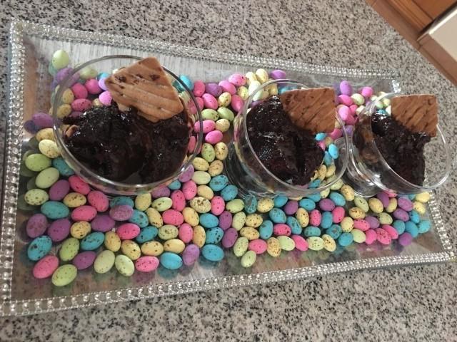 Saucy Chocolate Pudding