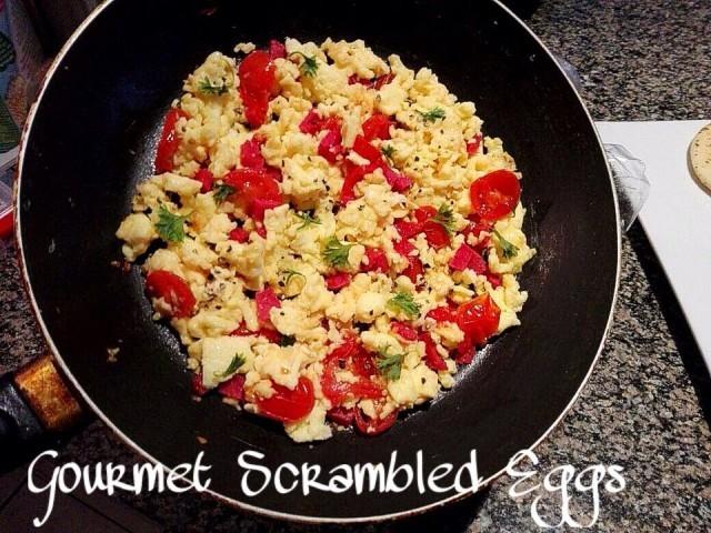 Gourmet Scrambled Eggs