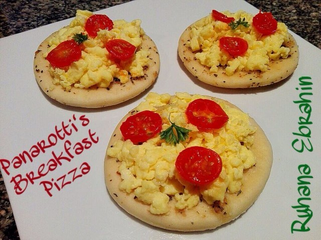 Copycat Panarottis Breakfast Pizza
