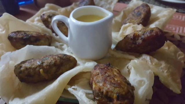 Lemon Butter Sauce Kebaabs