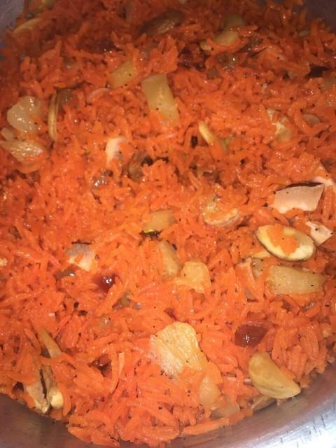 Zarda(sweet Rice)