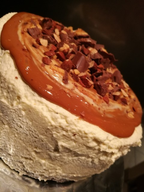 Starbucks Salted Caramel Crunchie Chocolate Cake