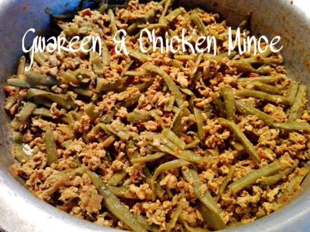 Gwareen & Chicken Mince
