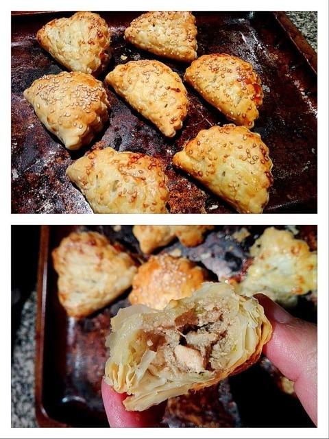 Chicken & Mushroom Pies