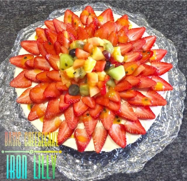 Basic Lemon Cheesecake