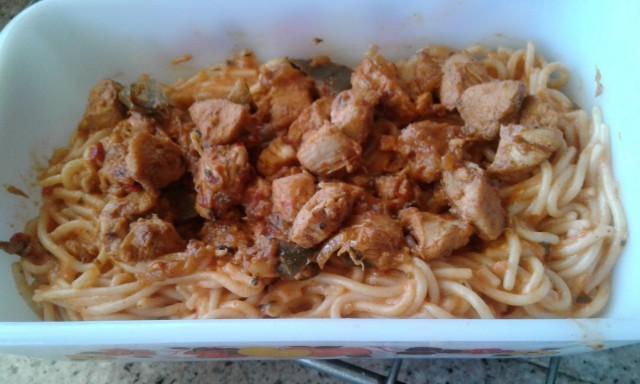 Cheesy Spagetti