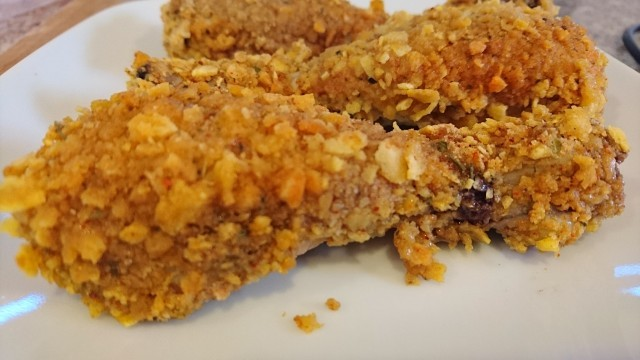 Easy Crumbed Drumsticks