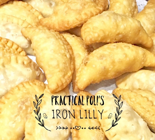 Practical Poli's (coconut-filled Pastry)