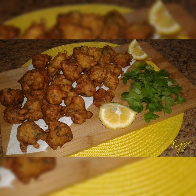 Chicken Bhajias